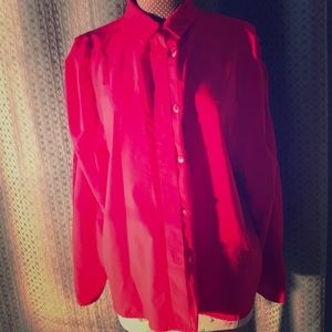 Flaming Red blouse!!